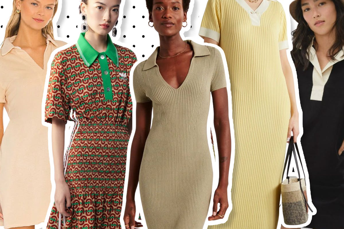 Polo shirt dresses are among the best in the game