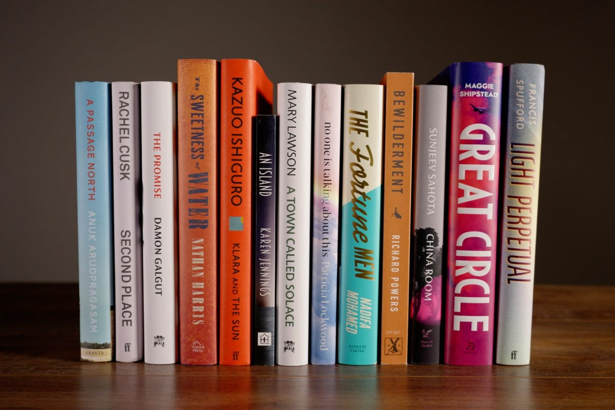 Booker Prize 2021 long list