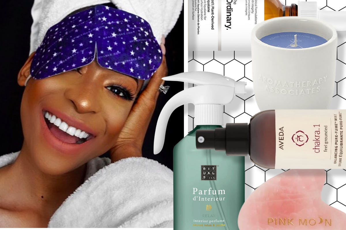 From a self-heating eye mask to a chakra body mist: 9 beauty products to help you unwind before sleeping