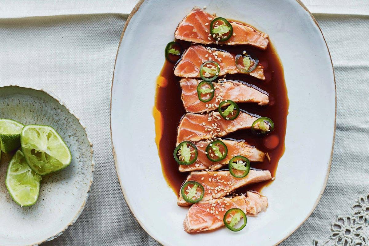 salmon tataki recipe