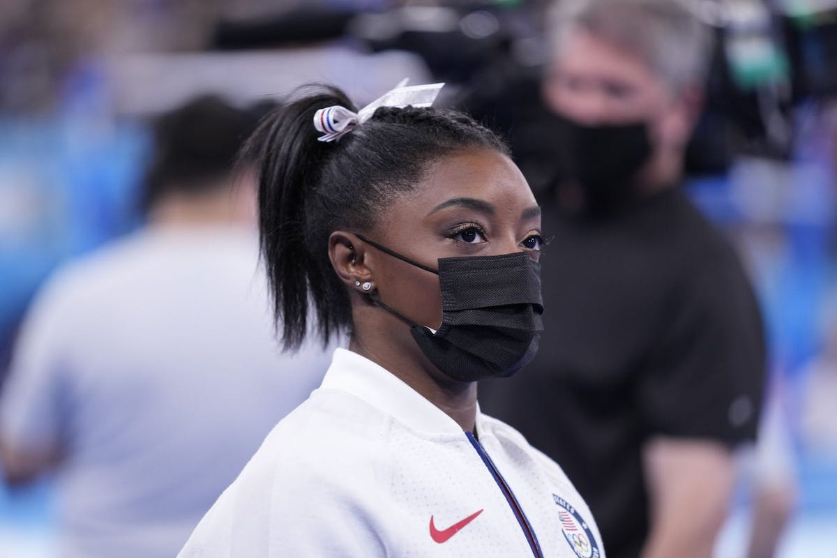 Why Simone Biles is a quitspiration.