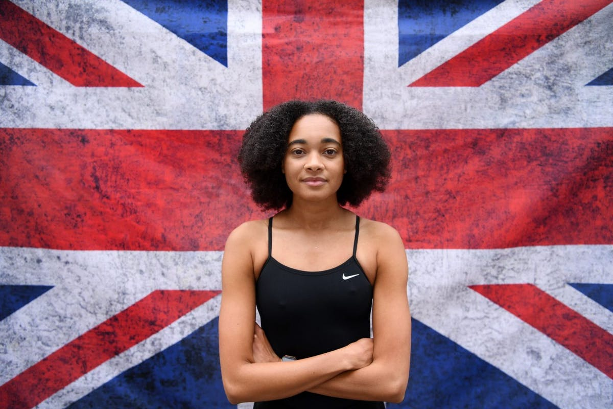 Alice Dearing is the UK's first elite Black swimmer