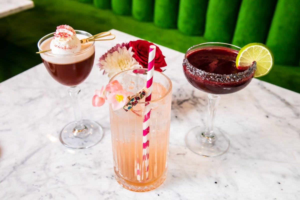 Mrs Riot cocktail recipes