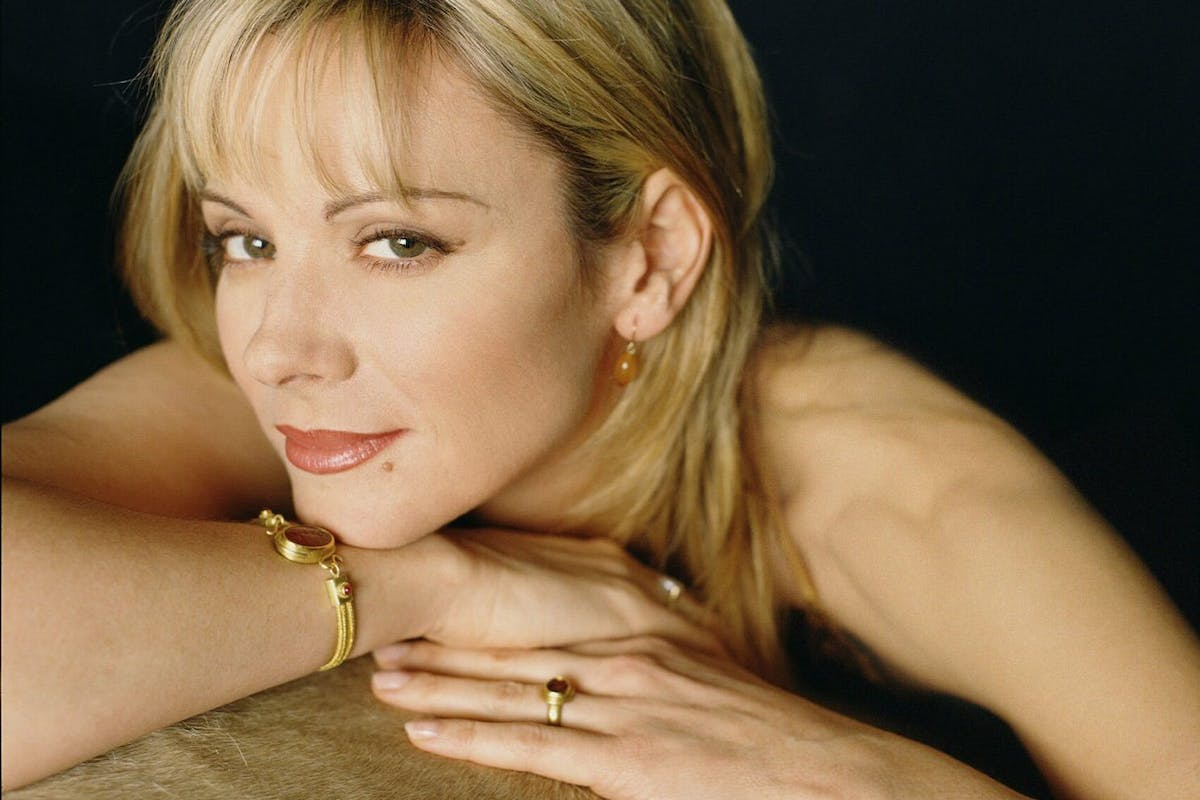 """Kim Cattrall of """"Sex and the City"""" pose for a portrait. (Photo by HBO/Getty Images)"""