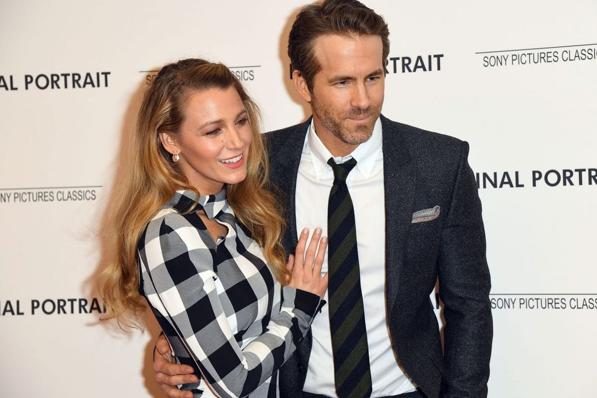 Blake Lively and Ryan Reynolds attend the 'Final Portrait' New York screening at Guggenheim Museum on March 22, 2018 in New York City. / AFP PHOTO / ANGELA WEISS (Photo credit should read ANGELA WEISS/AFP via Getty Images)