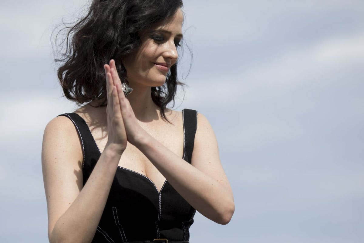 Eva Green attends the 'Proxima' Photocall during the 67th San Sebastian Film Festival in the northern Spanish Basque city of San Sebastian on September 21, 2019. (Photo by COOLMedia/NurPhoto via Getty Images)