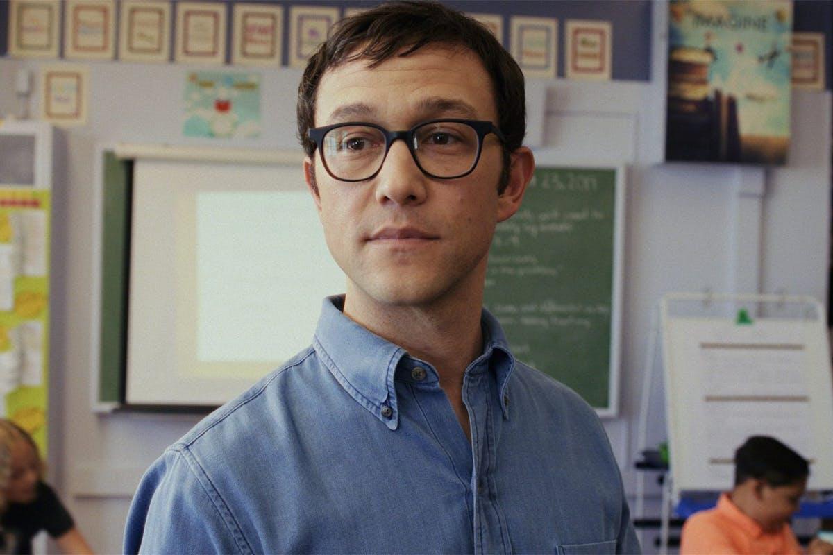 Joseph Godon-Levitt as Mr Corman in the Apple TV+ series