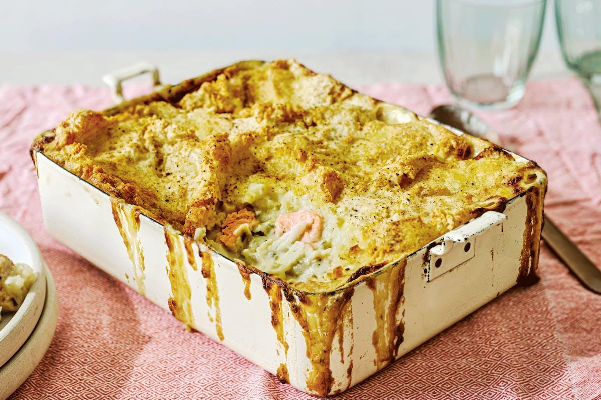 batch cooking fish pie recipe for freezer