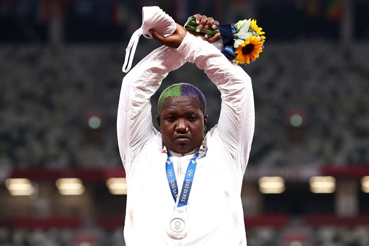 Raven Saunders Olympics