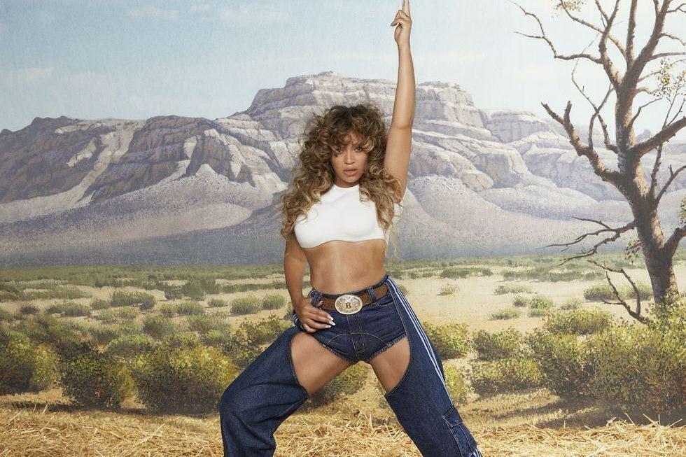 Beyoncé in Ivy Park Rodeo campaign