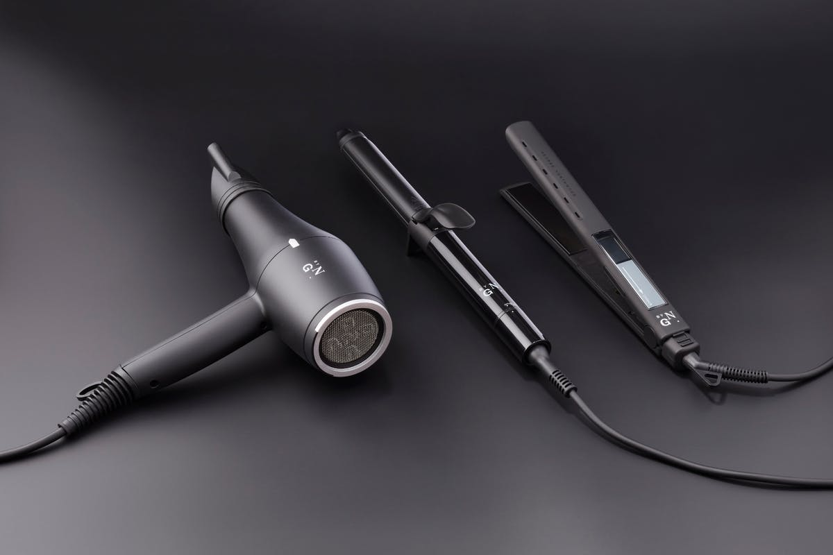 George Northwood Undone The Tools hairdryer, straightener and curling tong