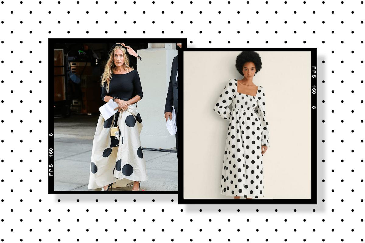Giant polka dots are big news