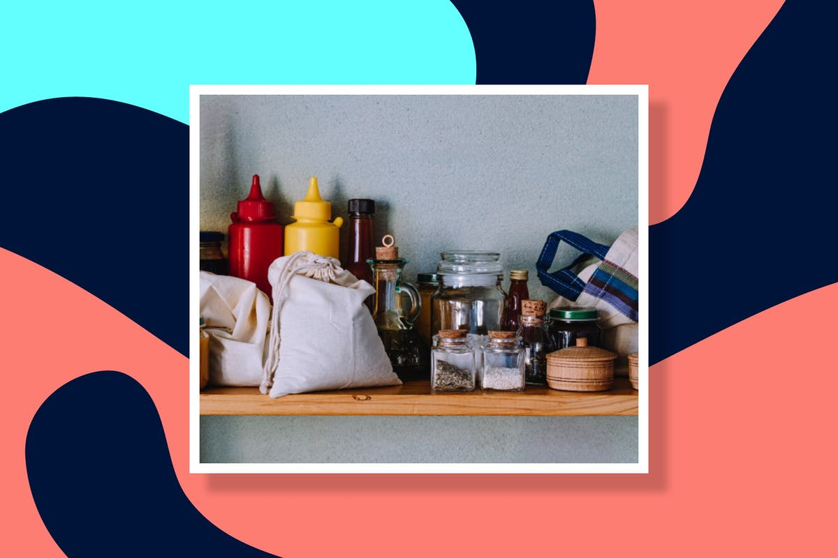 how to organise your kitchen cupboard