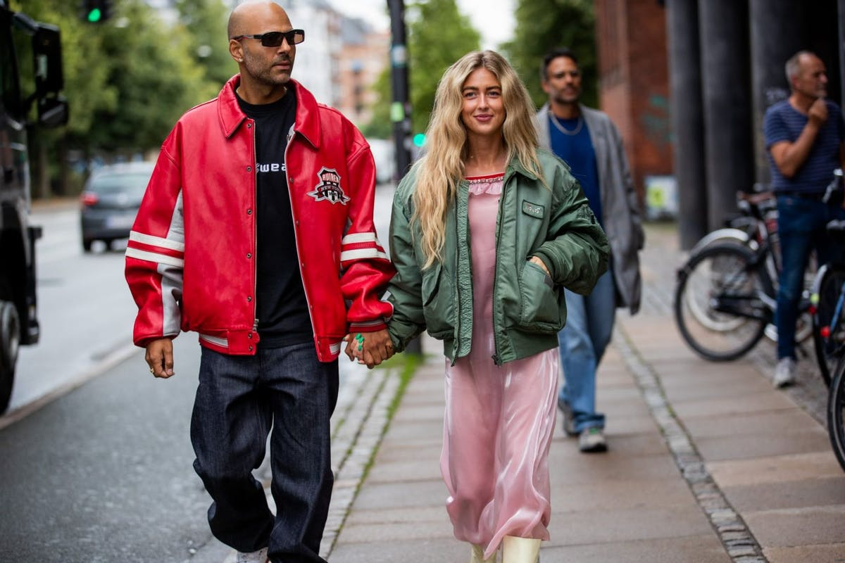 Varsity jackets are fashion's latest love-in