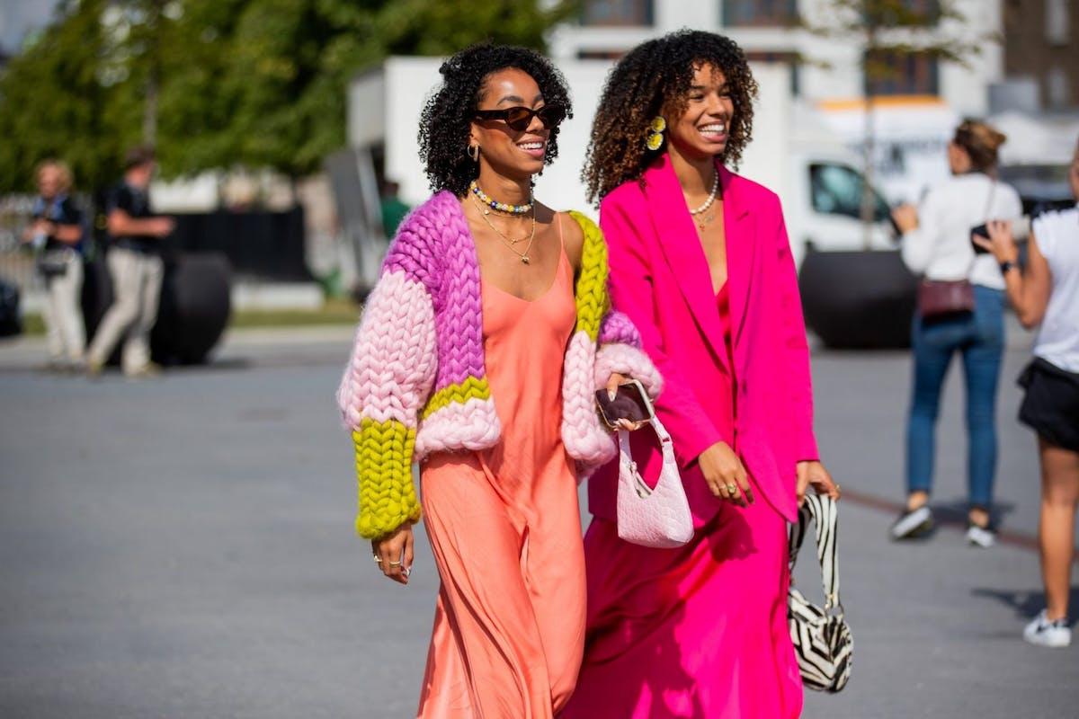 Street style on the streets of Copenhagen Fashion Week