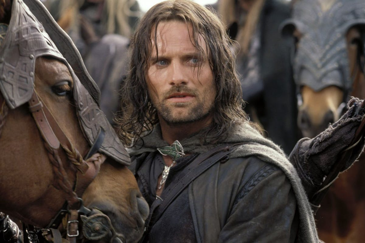The Lord Of The Rings - The Two Towers - 2002 Viggo Mortensen
