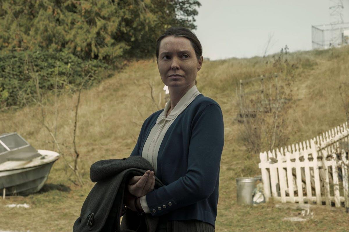 Midnight Mass' Samantha Sloyan in the Netflix thriller