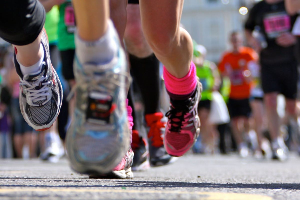 Marathon training tips for running your first race.