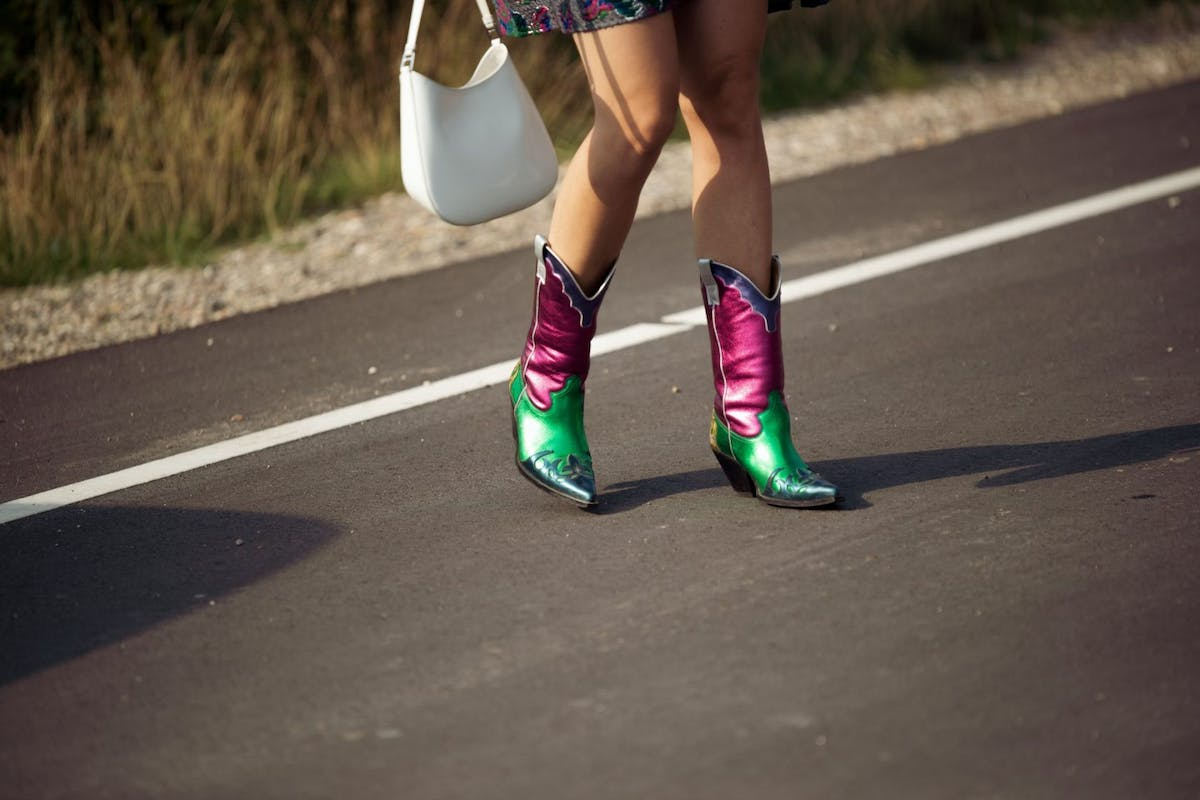 Cowboy boots are the talk of the fashion town