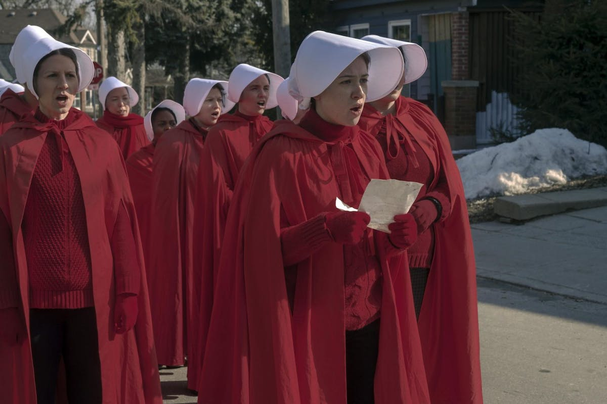 The Handmaidís Tale -- ìThe Wildernessî - Episode 410 -- June draws on all her resources and relationships, risking everything to ensure her own kind of justice.