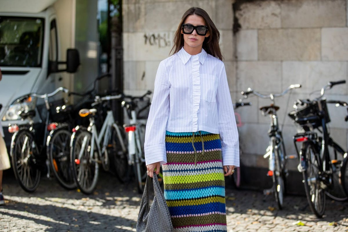 Crochet skirts are summer's breakout style star