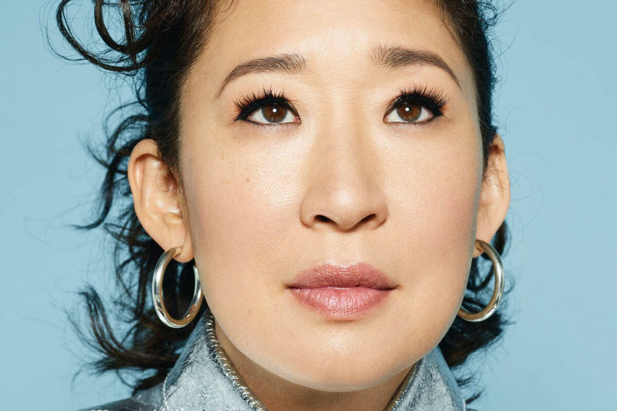Stylist Magazine: Sandra Oh