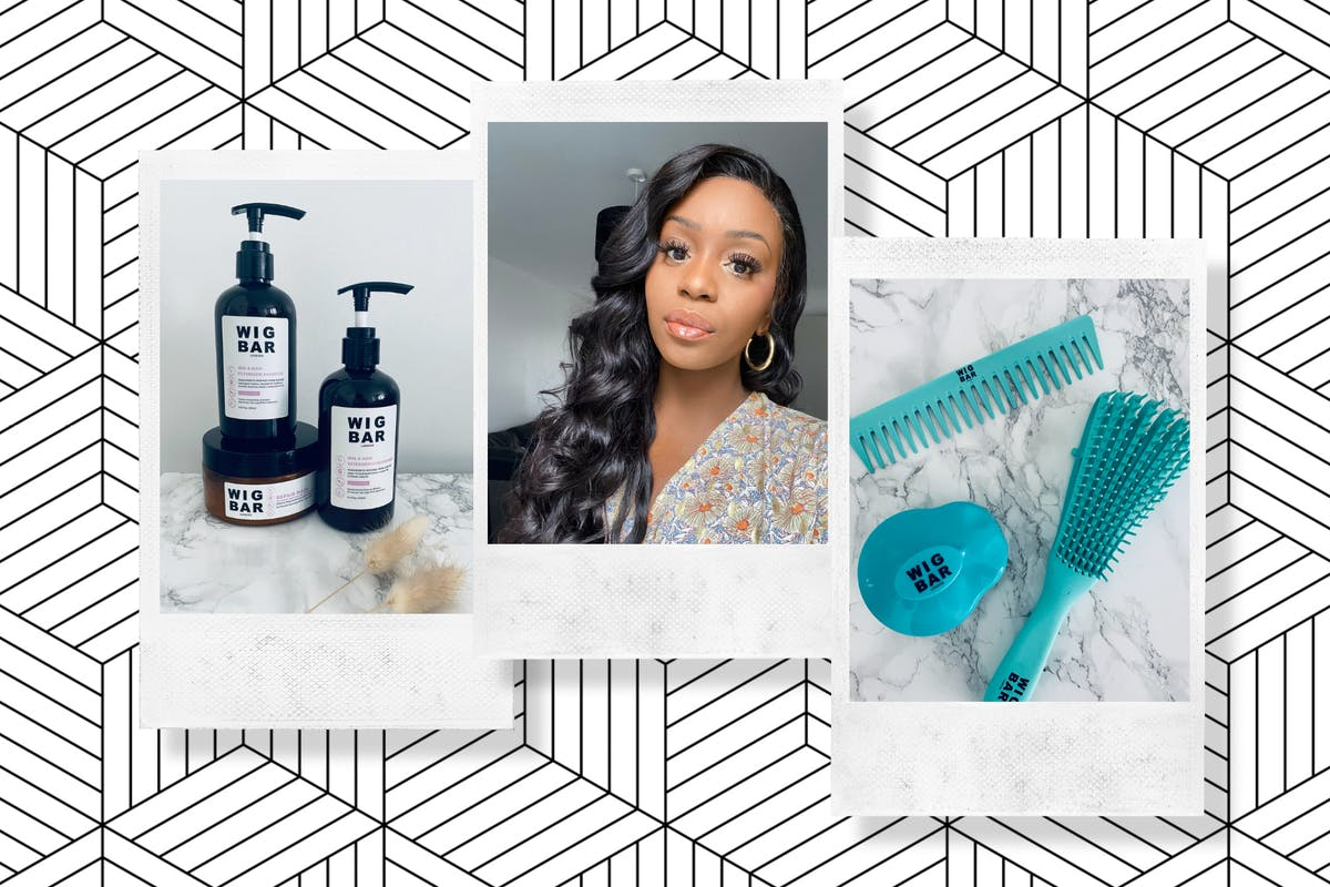 The Wig Bar London Complete Wig Care Kit review by Giselle La Pompe-Moore