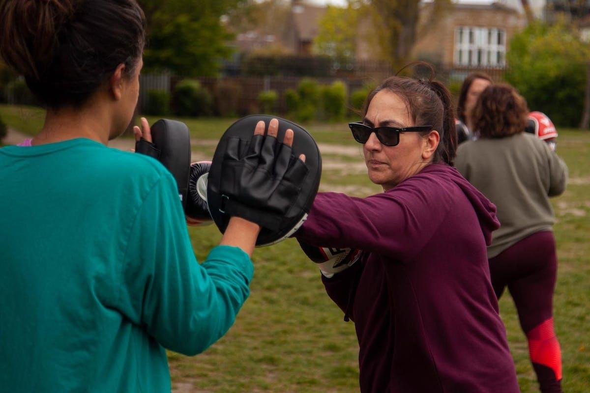 Saima Mir got into kickboxing in her 40s