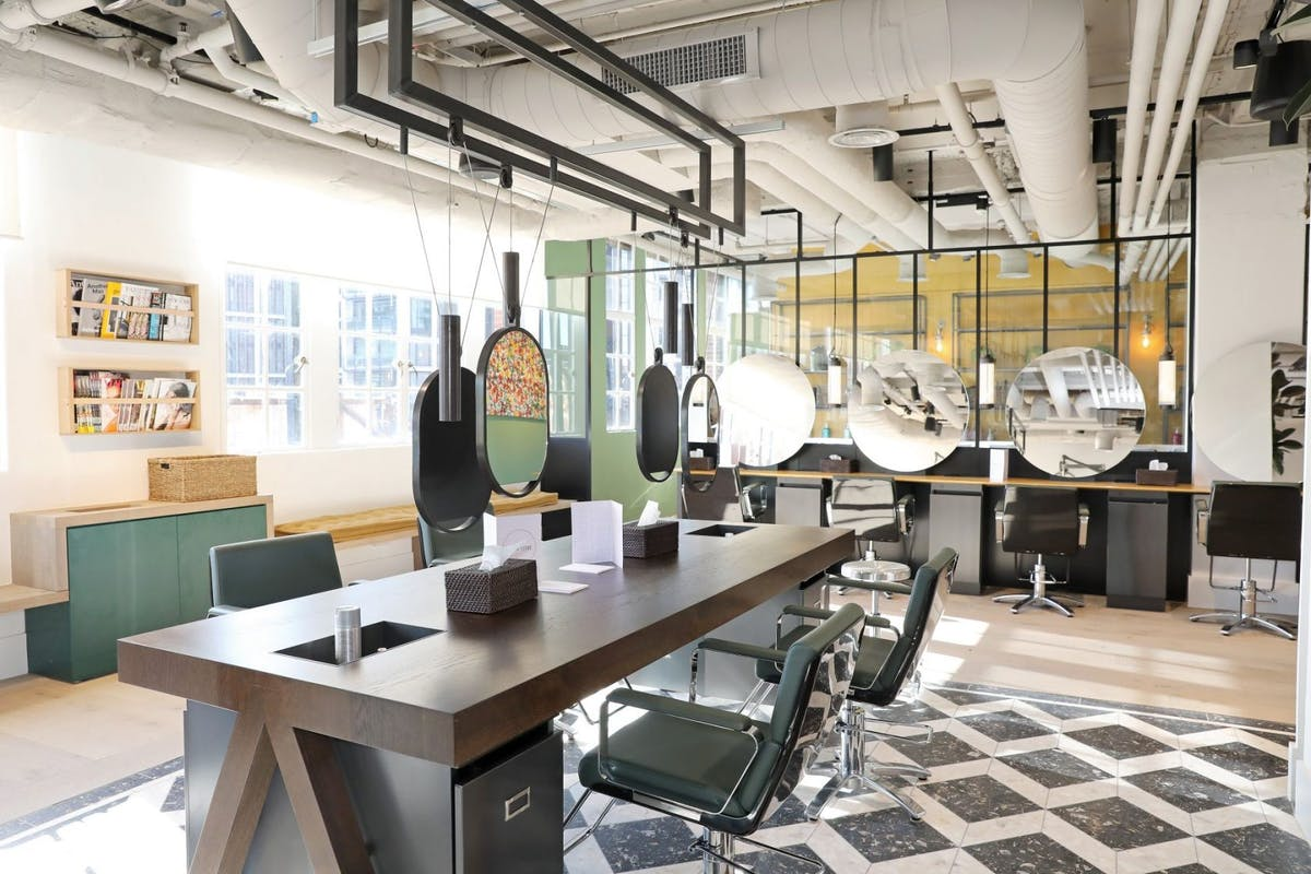 best hair salons in London - Hershesons