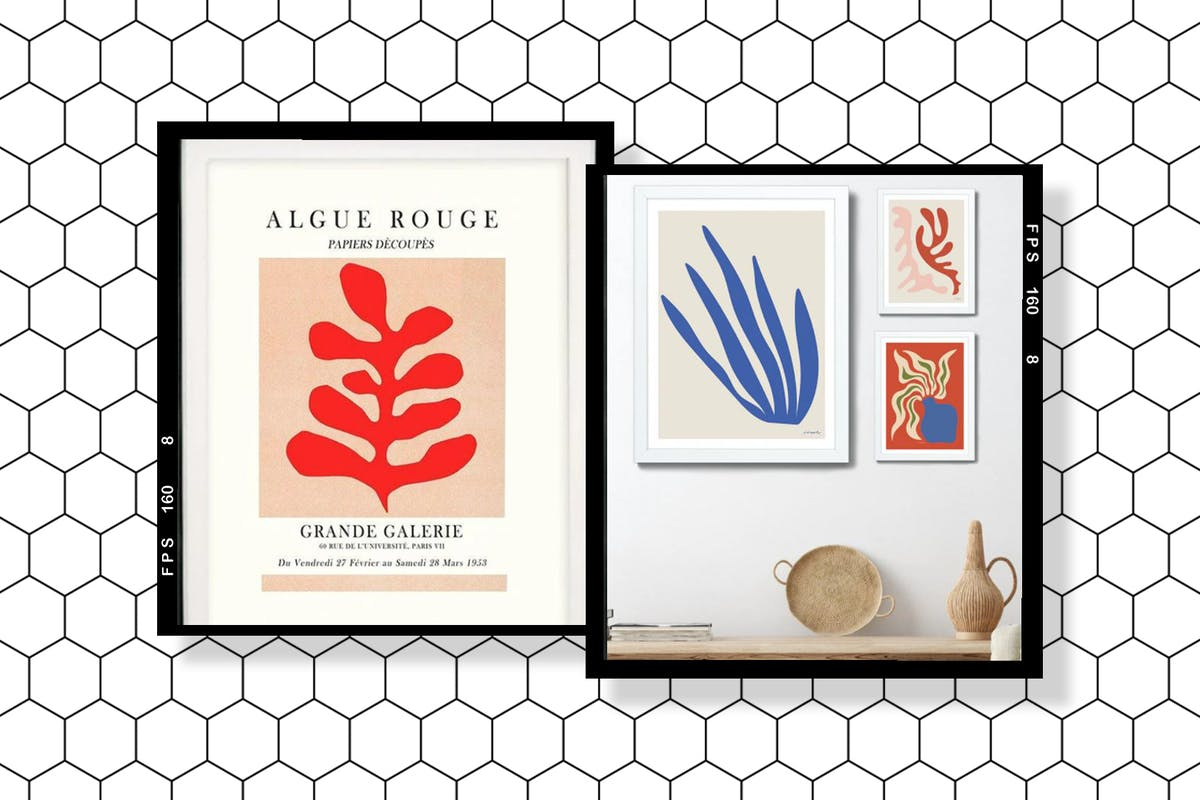 Matisse-inspired prints