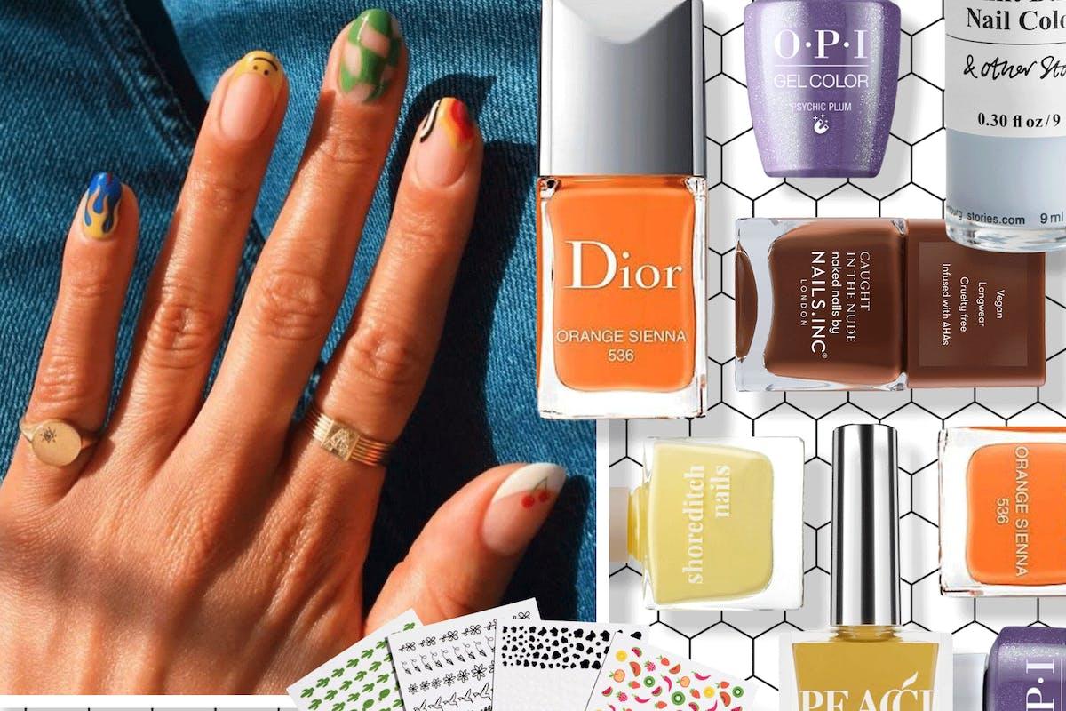 Best autumn winter nail trends