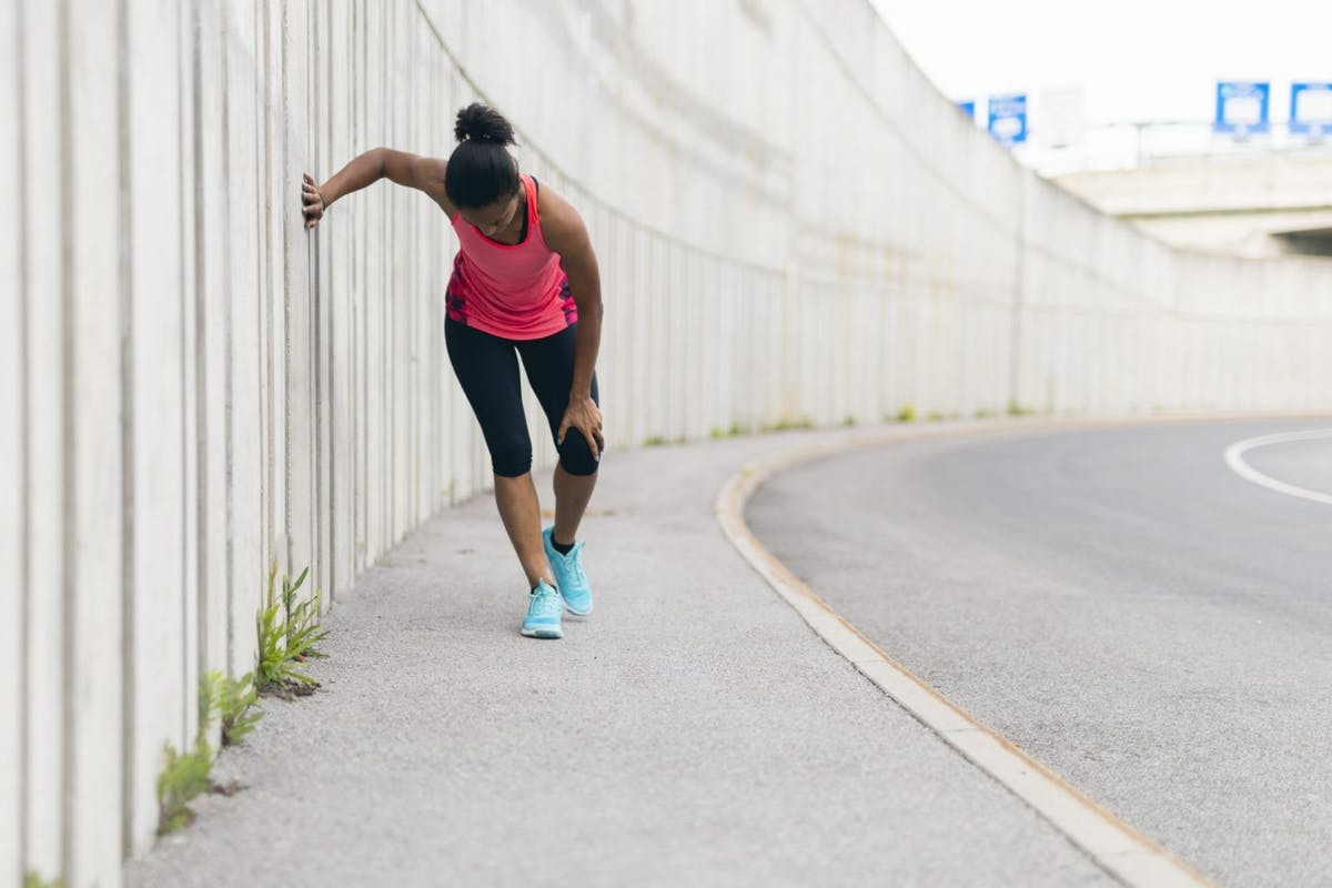 How to cure knee pain from running