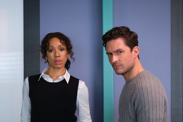 Ben Aldridge and Pearl Mackie play a detective duo in The Long Call