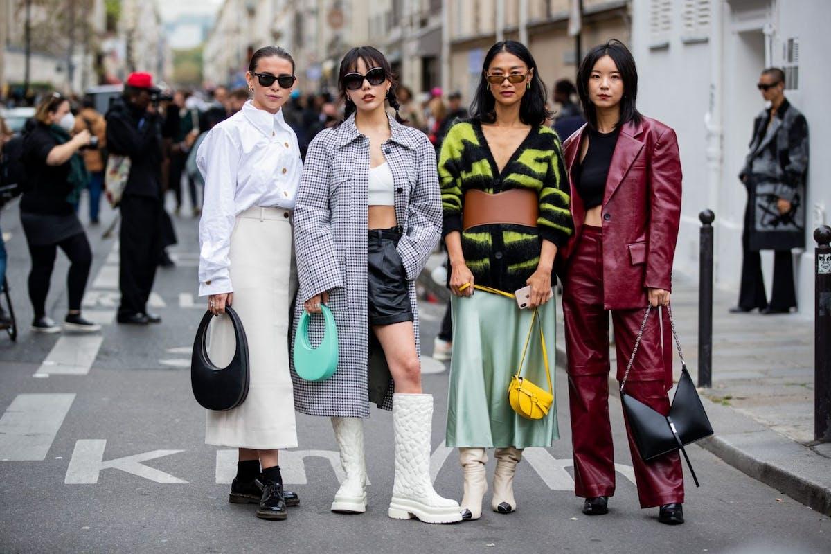 Paris Fashion Week spring/summer 2022 street style