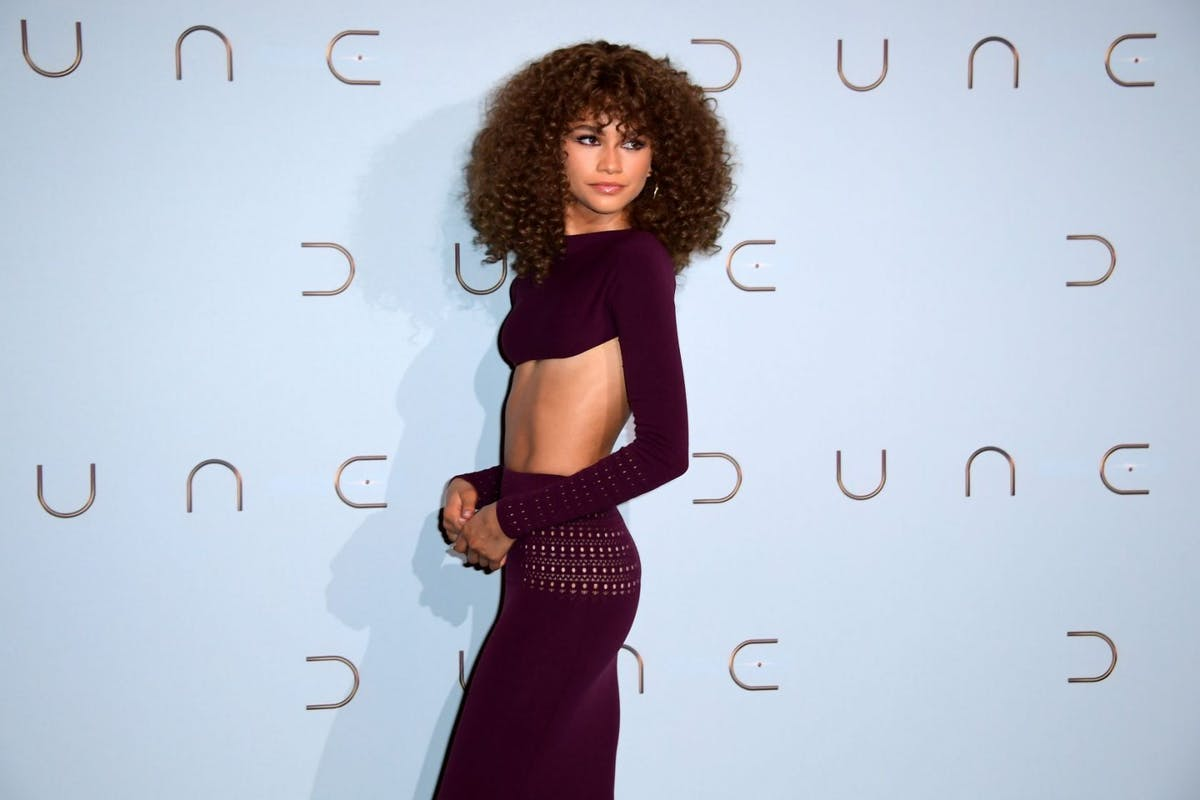 Zendaya wearing Alaïa at the Venice Film Festival