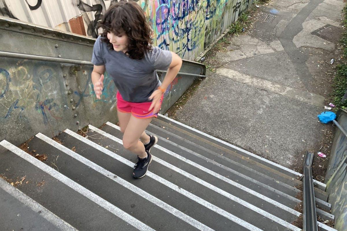 Stair running benefits