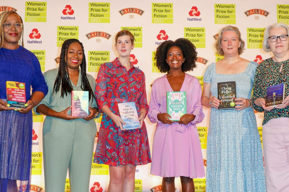 The six authors shortlisted for the 2021 Womens Prize for Fiction