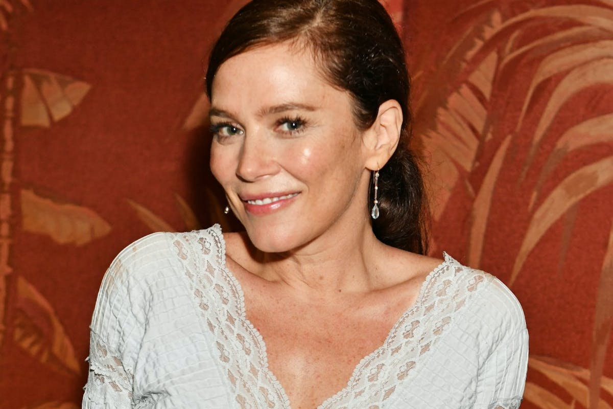 """Anna Friel attends Fat Tony's autobiography """"I Don't Take Requests"""" pre-launch party at Isabel Mayfair on July 19, 2021 in London, England. (Photo by David M. Benett/Dave Benett/Getty Images for MCH STUDIO)"""