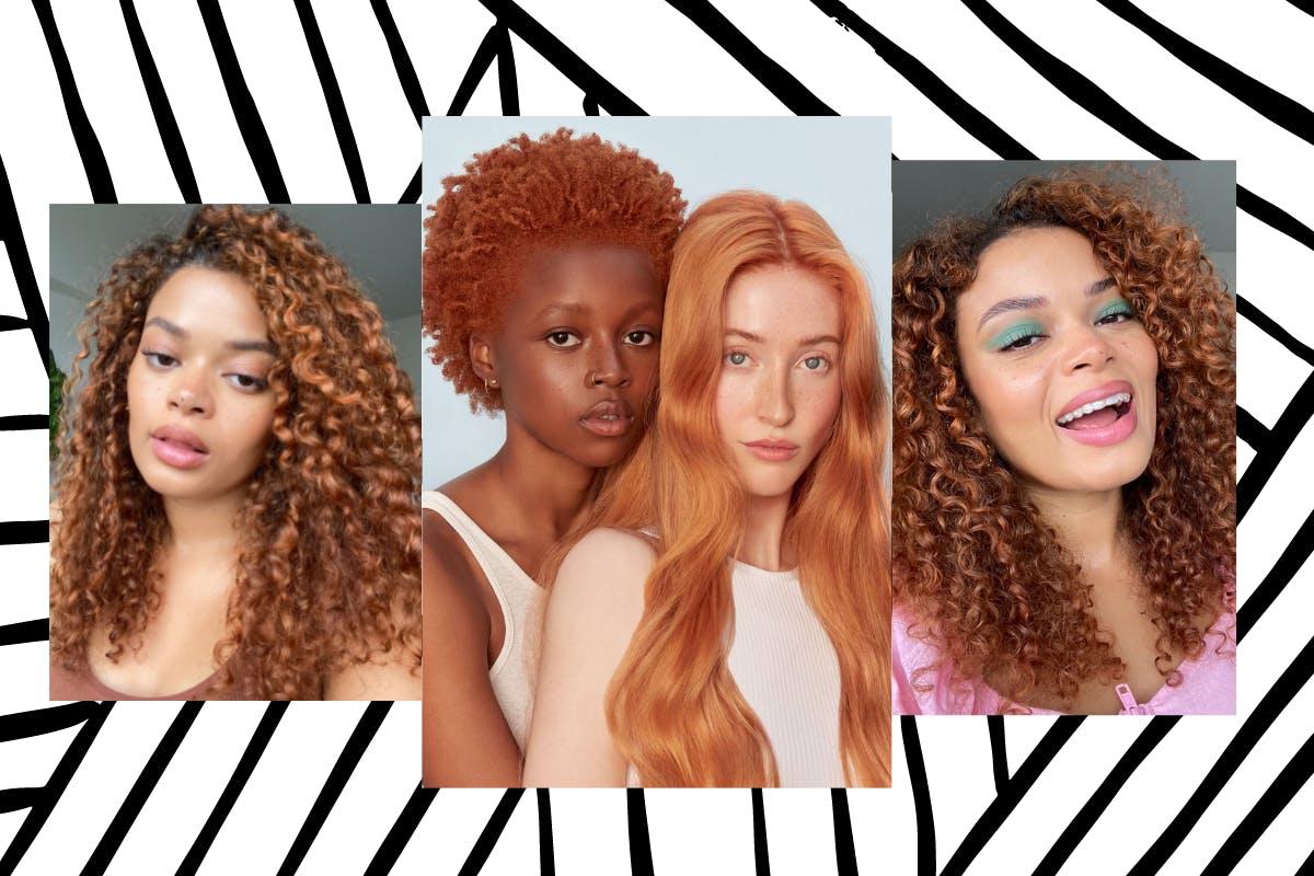 copper hair dye trend