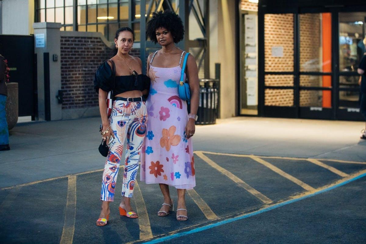 New York Fashion Week street style SS22