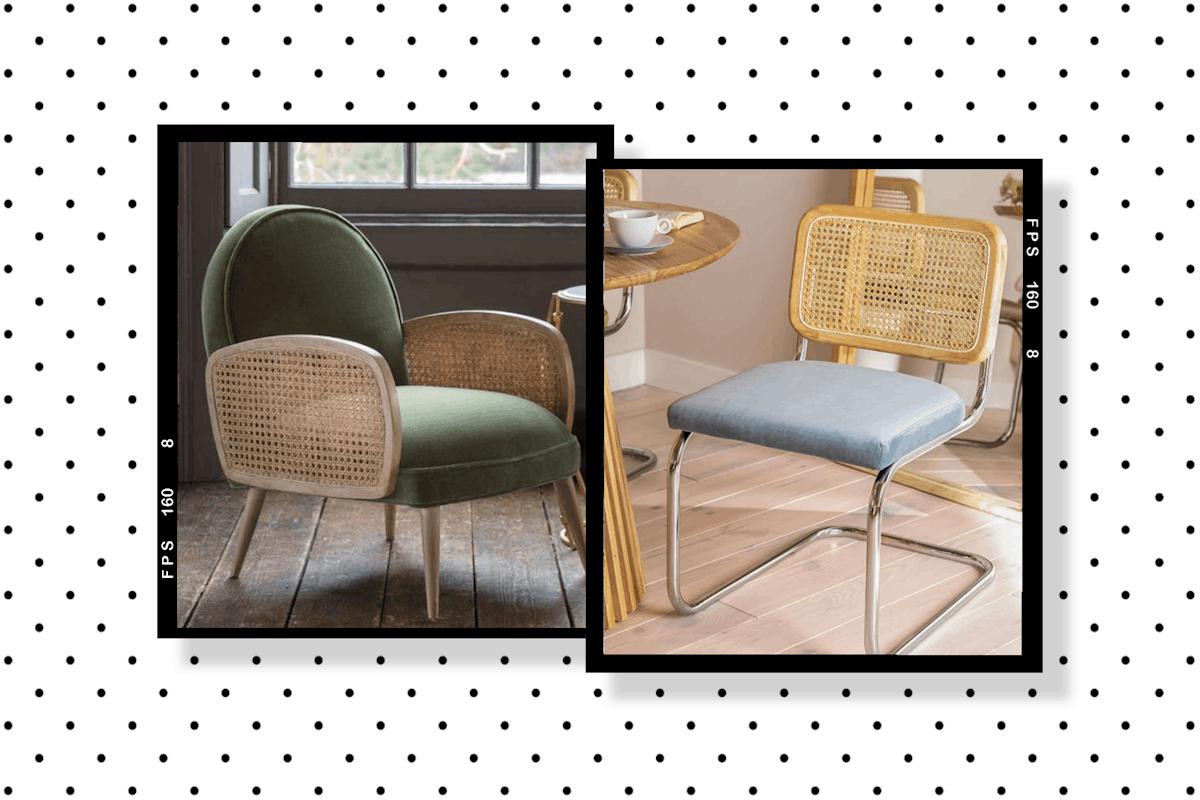 Velvet chairs under £500