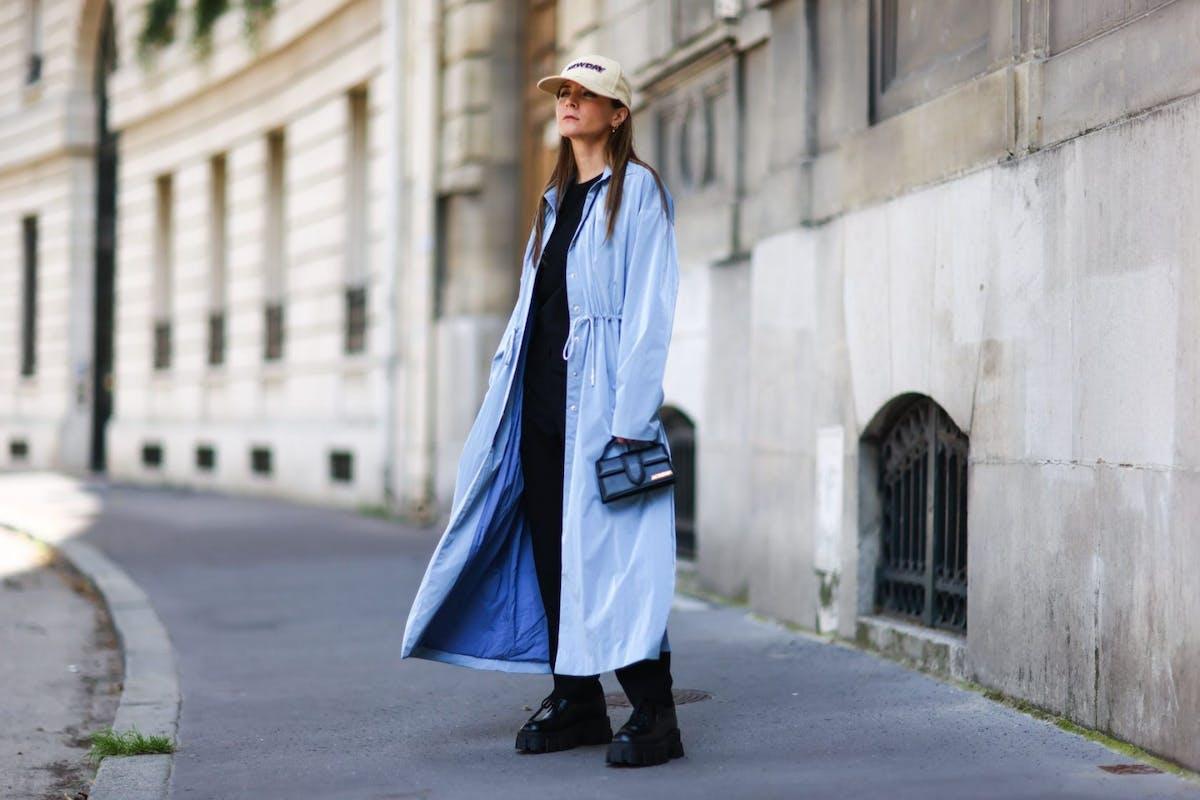Oversized raincoats are big news