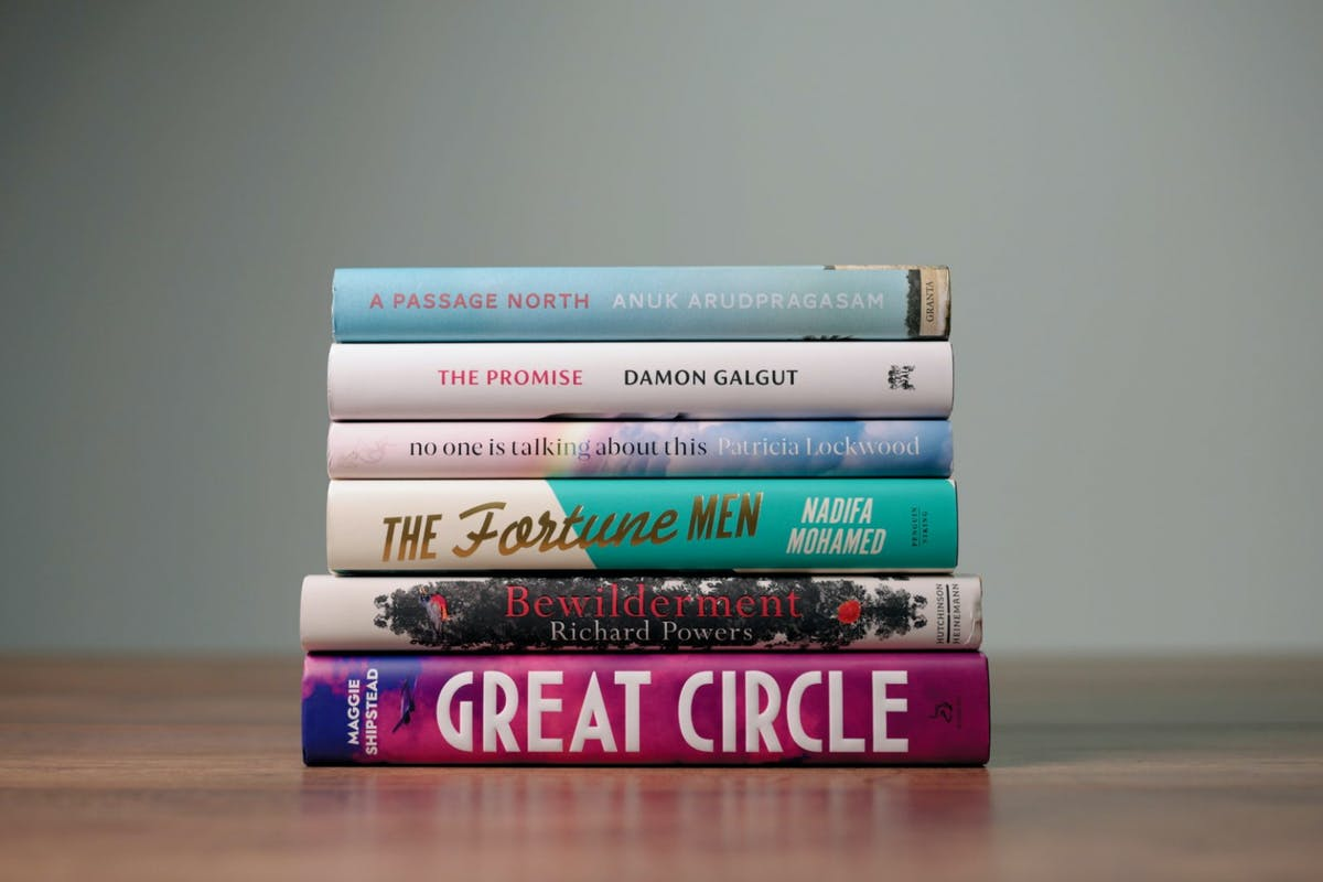 The Booker Prize for Fiction shortlisted novels