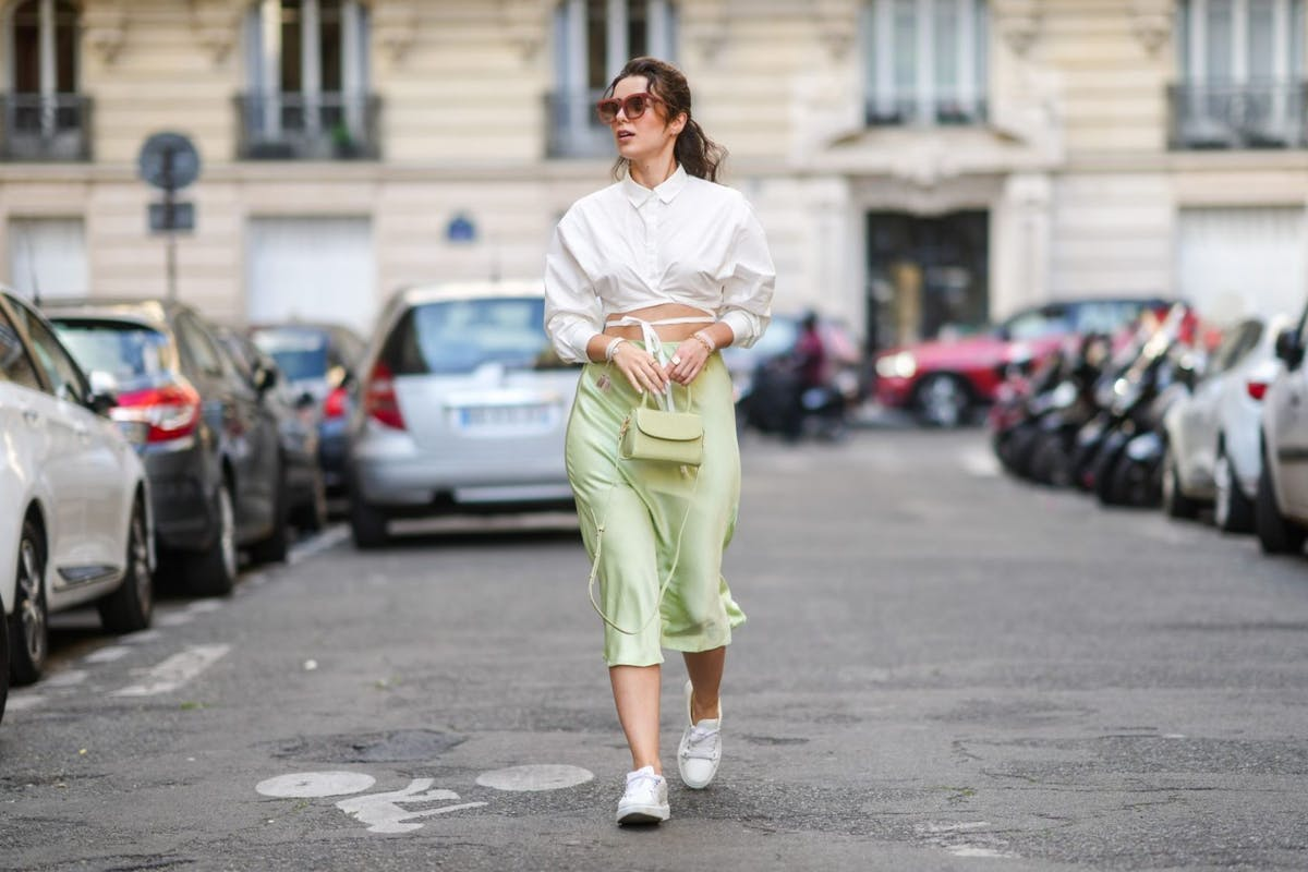 Seahorse green is fashion's new favourite colour