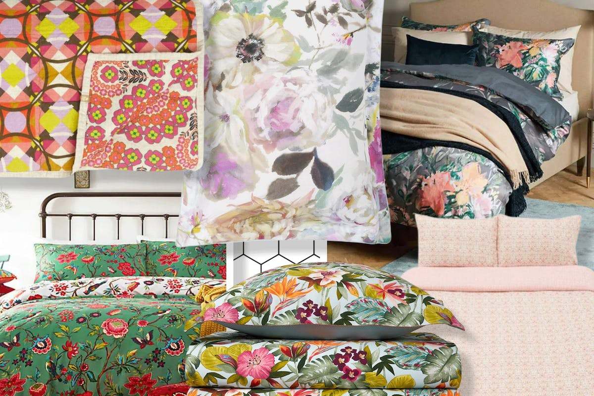 Floral bedding is the new homeware trend to know