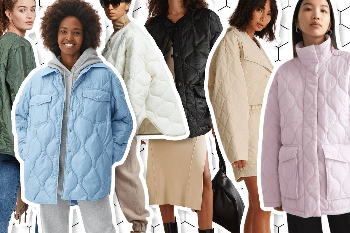 Onion-quilted jackets are the trend to know