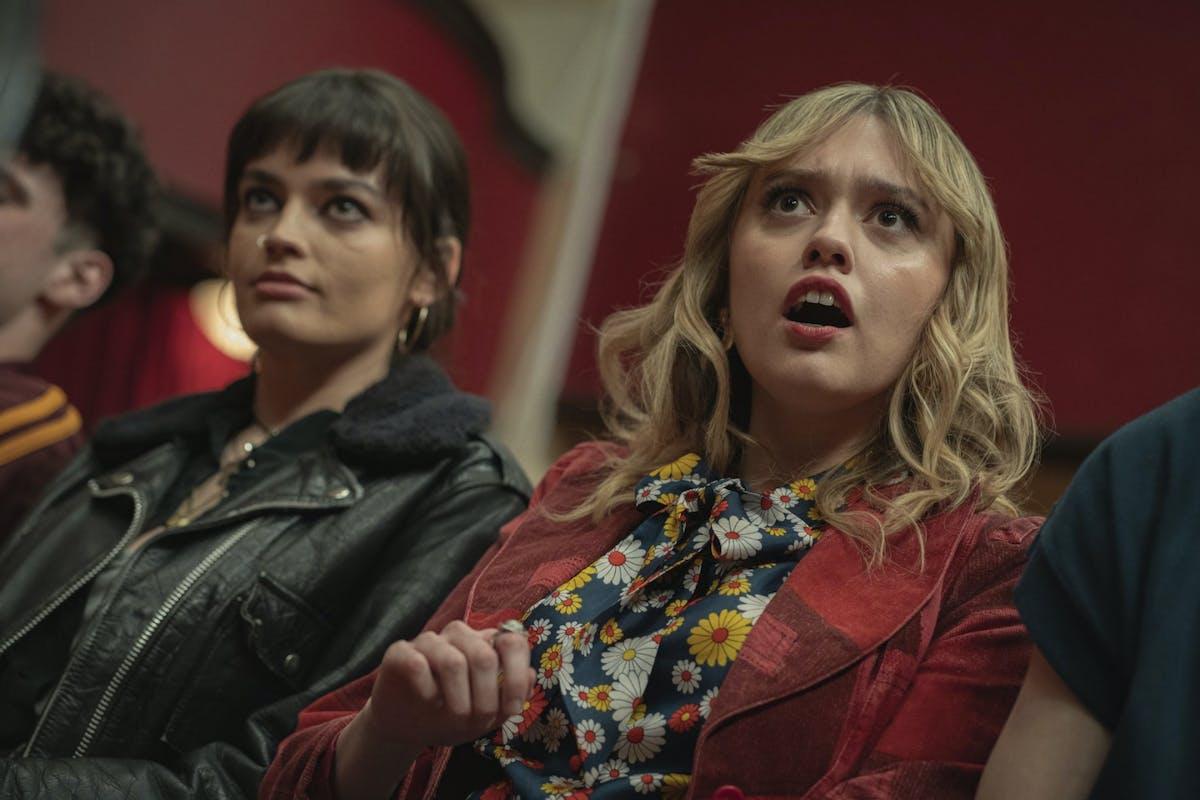 Aimee Lou Wood as Aimee Gibbs in Sex Education season 3