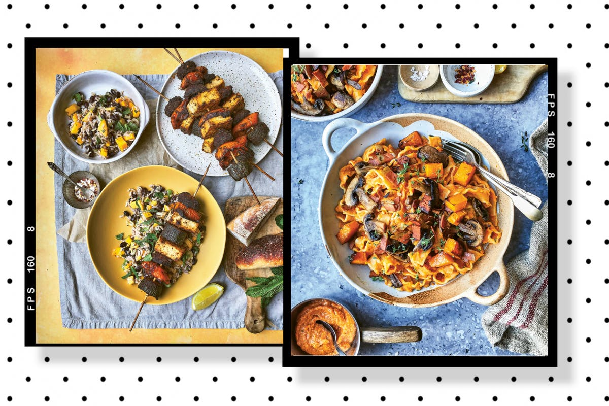 My Vegan year autumn recipes