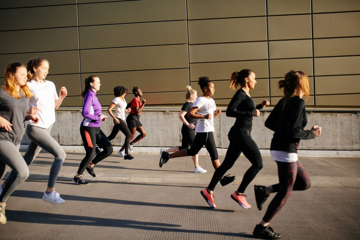 How to get into long distance running