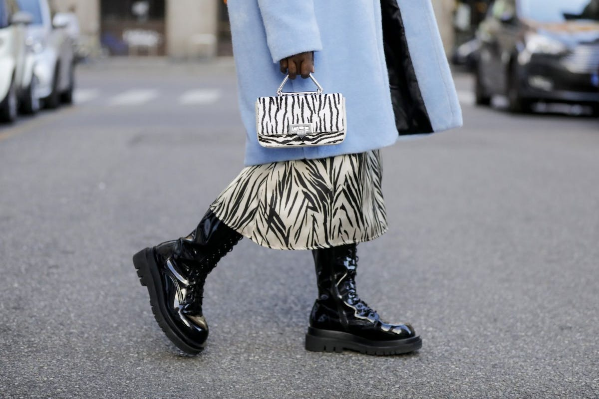Tall stomper boots are the footwear trend to know